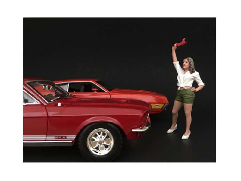 70\'s Style Figure II For 1:24 Scale Models by American Diorama