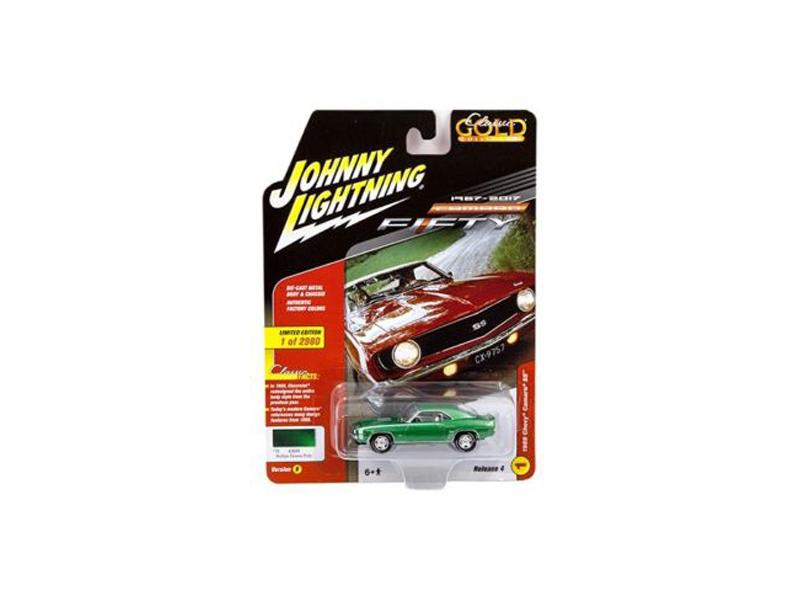 1969 Chevrolet Camaro SS Rallye Green Poly 50th Anniversary Limited ...