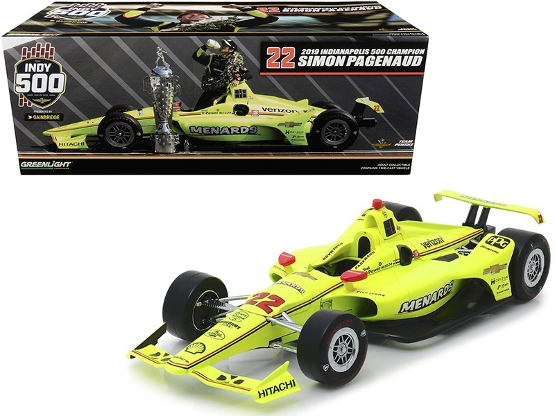 Dell Mindmaze Alonso 2019 1:18 Greenlight Indycar #66