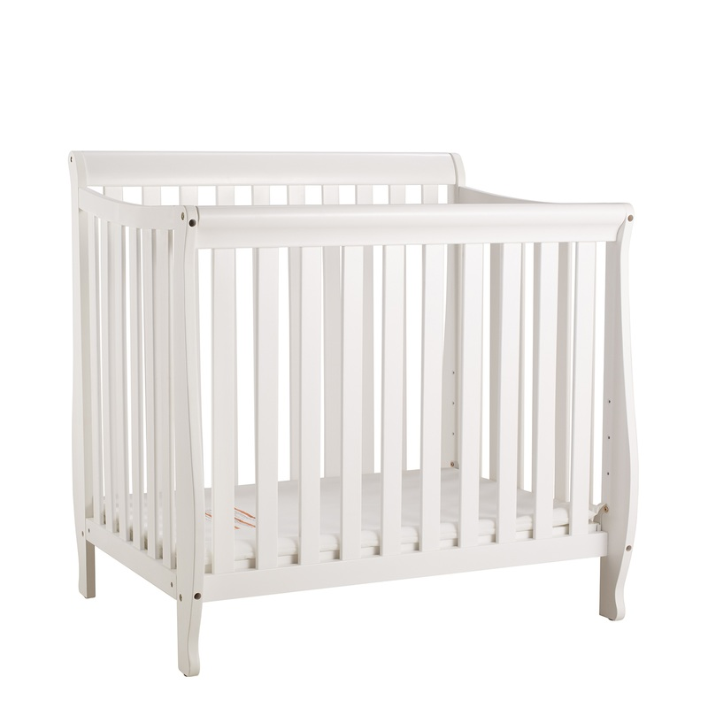 AFG Mini Alice Crib: White