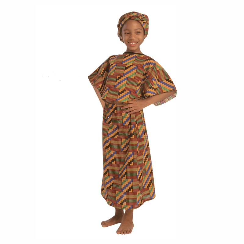 The Children's Factory West African Girl Costume