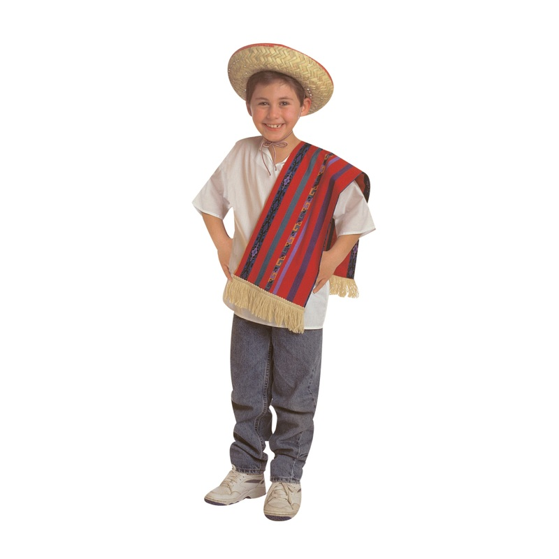 The Children's Factory Mexican Boy Costume