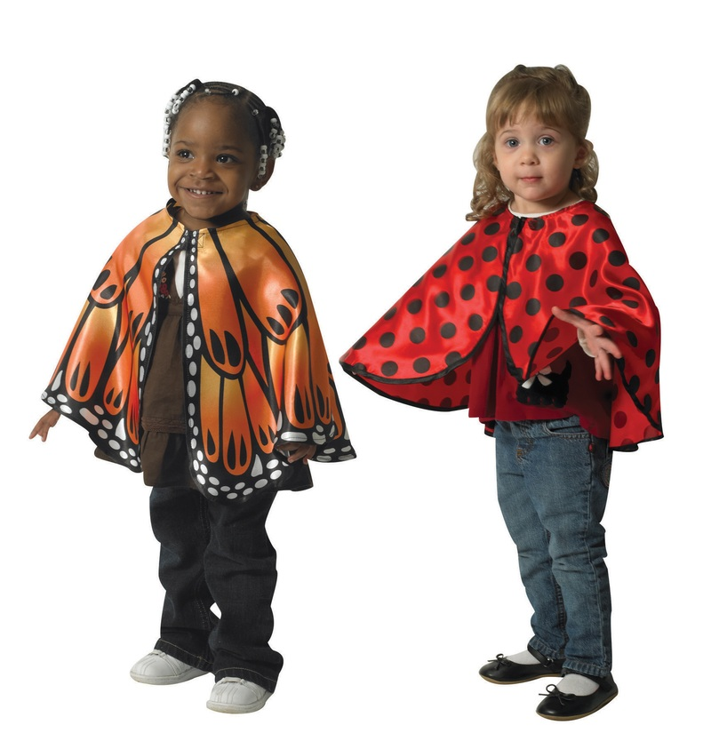 The Children's Factory Whimsical Bug Cape: Set of 2