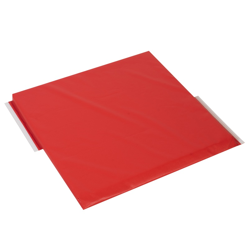 The Children's Factory Red Side Panel Modular Mat