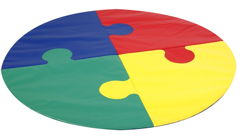 The Children's Factory Circle Puzzle Mat