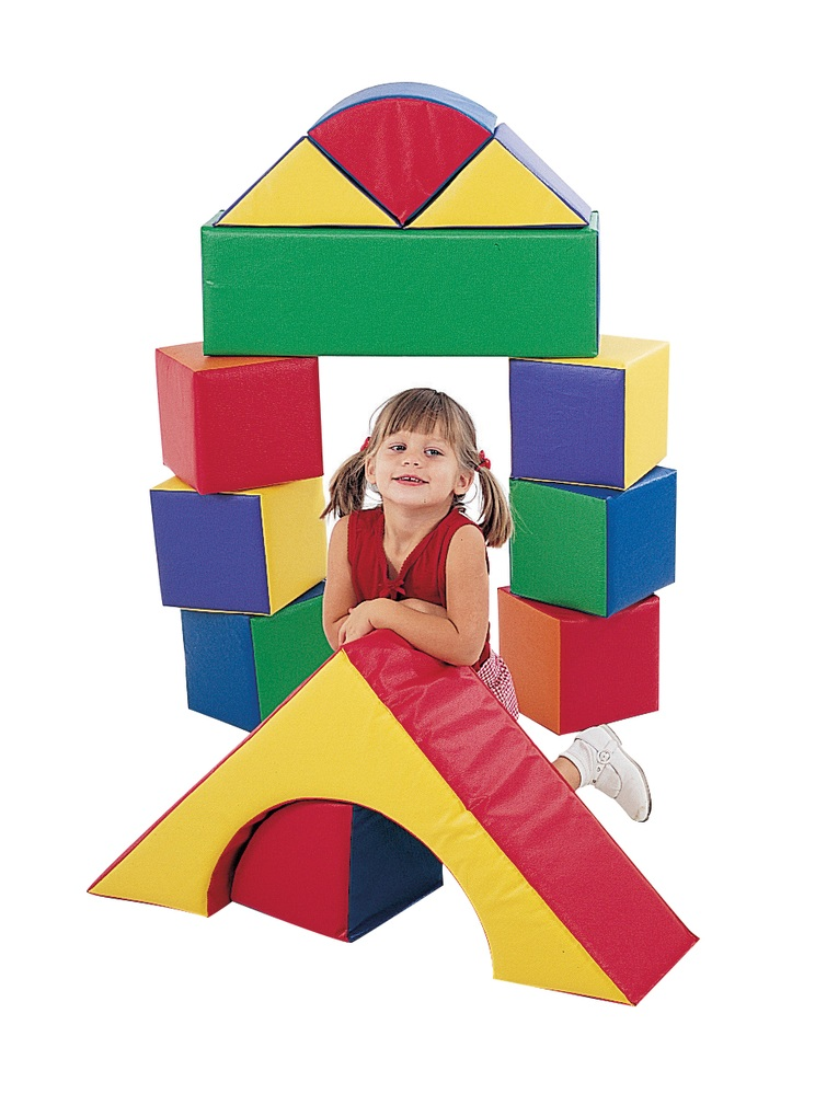 The Children's Factory 12-Piece Block Set