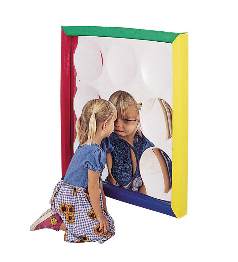 The Children's Factory Soft Frame Concave Bubble Mirror