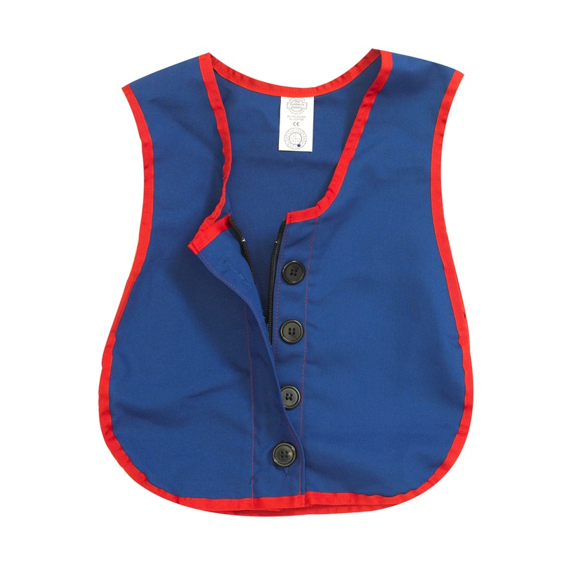 The Children's Factory Combo Zipper/Button Vest