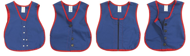 The Children's Factory Manual Dexterity Vests