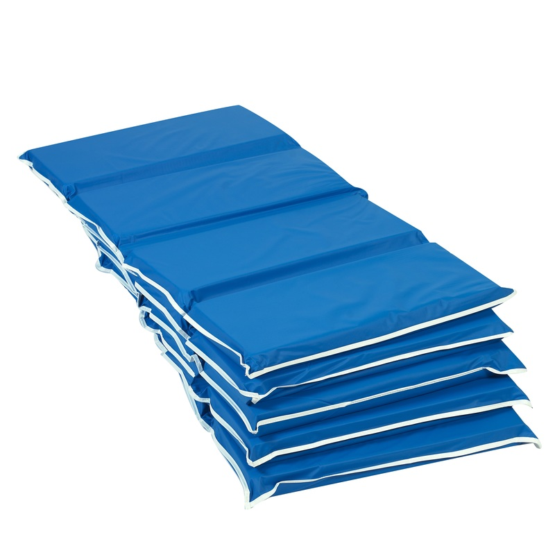 "The Children's Factory 2"" Thick Tough Duty Rest Mat: Pack of 5"