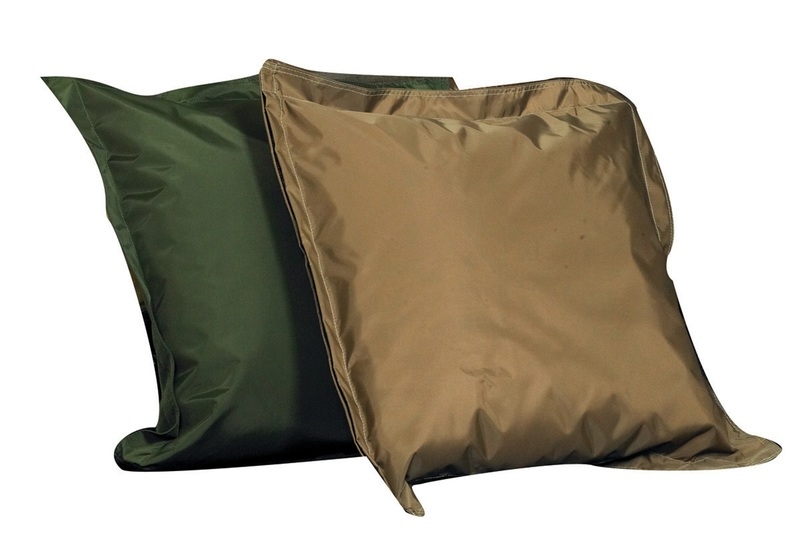 The Children's Factory Any Weather Pillow: Green & Tan, Set of 2