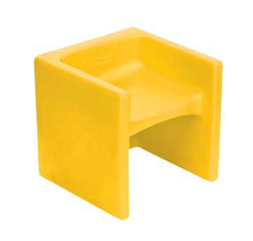 The Children's Factory Chair Cube: Yellow