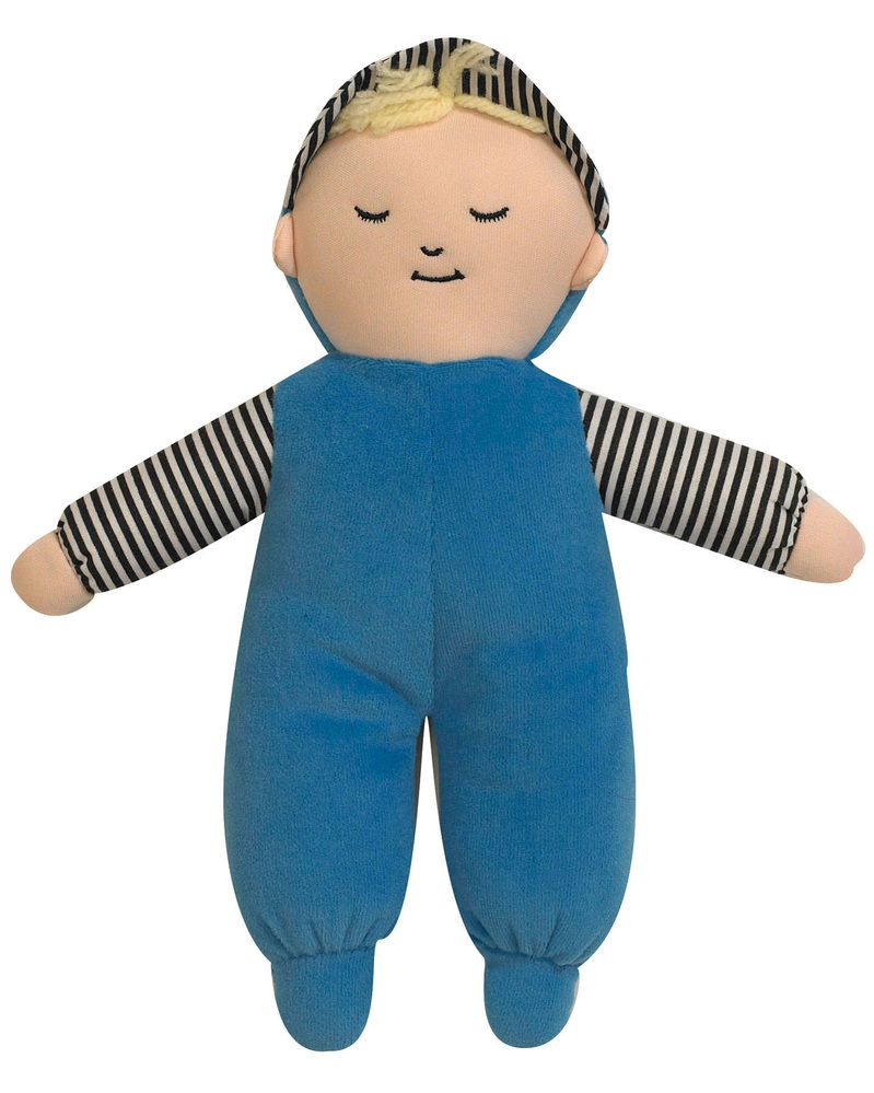 "The Children's Factory Baby's First Doll-Caucasian Boy: 10"" Tall"