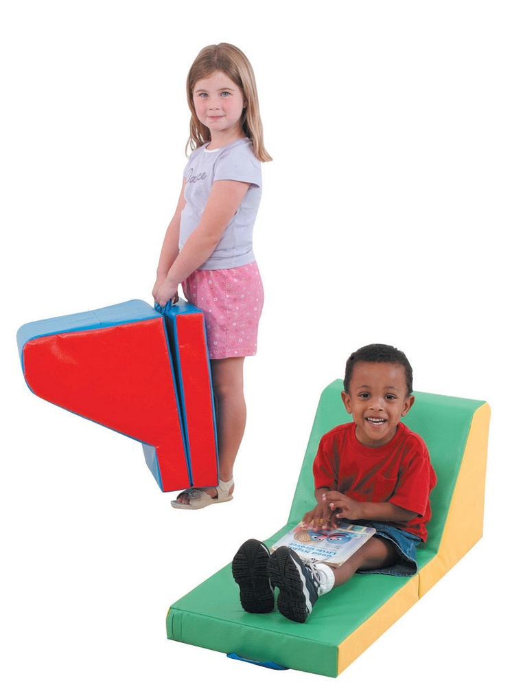 The Children's Factory Cozy Time Lounger; Set of 2