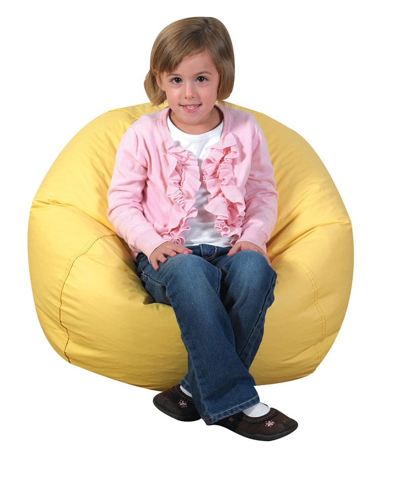 The Children's Factory Bean Bag: Yellow, 26""