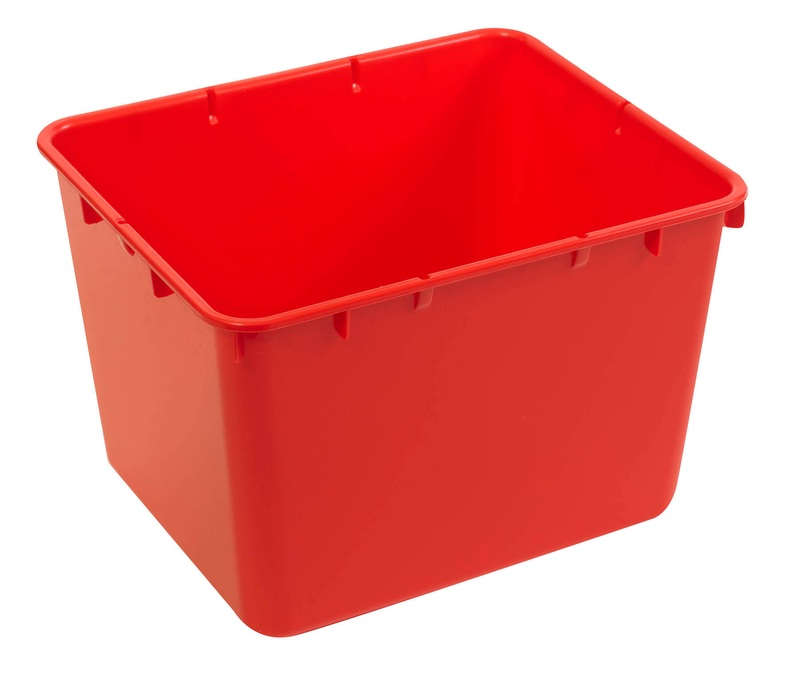 The Children's Factory Red X-Size-Cubbie: #1136-W10-L1R
