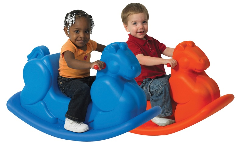 The Children's Factory Rocking Horses: Set of 2