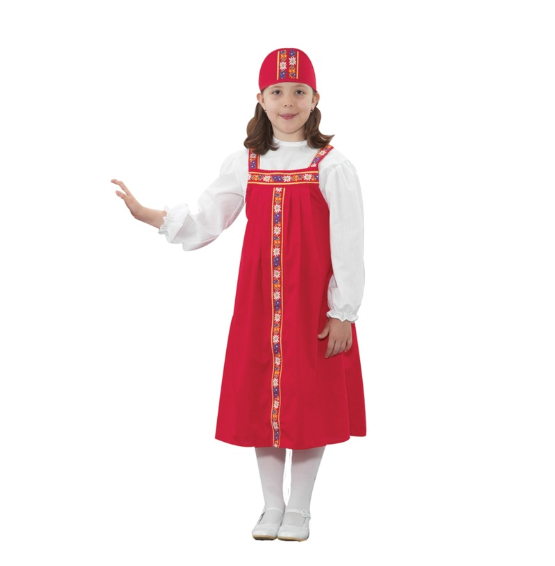 The Children's Factory Russian Girl Costume
