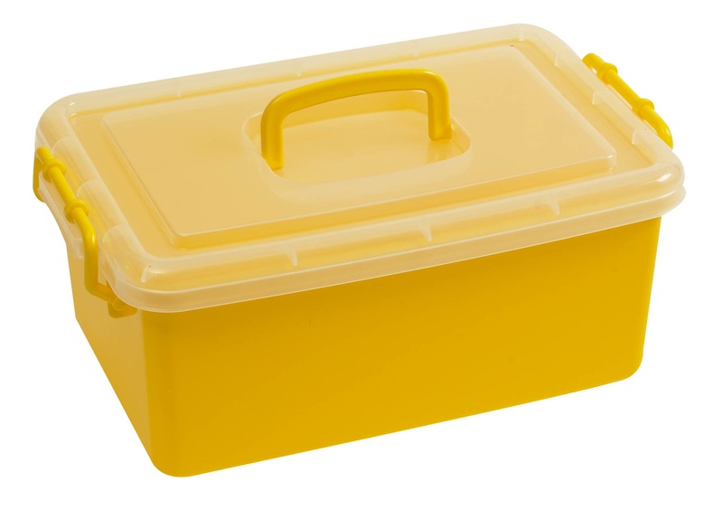 The Children's Factory Yellow Jumbo Bin: #1140Y, 12 per Box