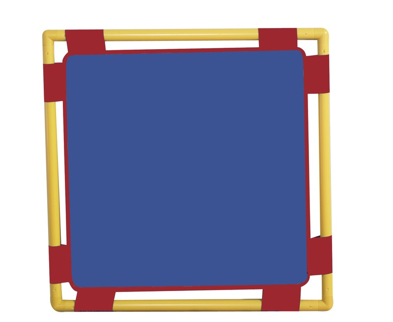 "The Children's Factory Blue Playpanel: 31"" x 31"""