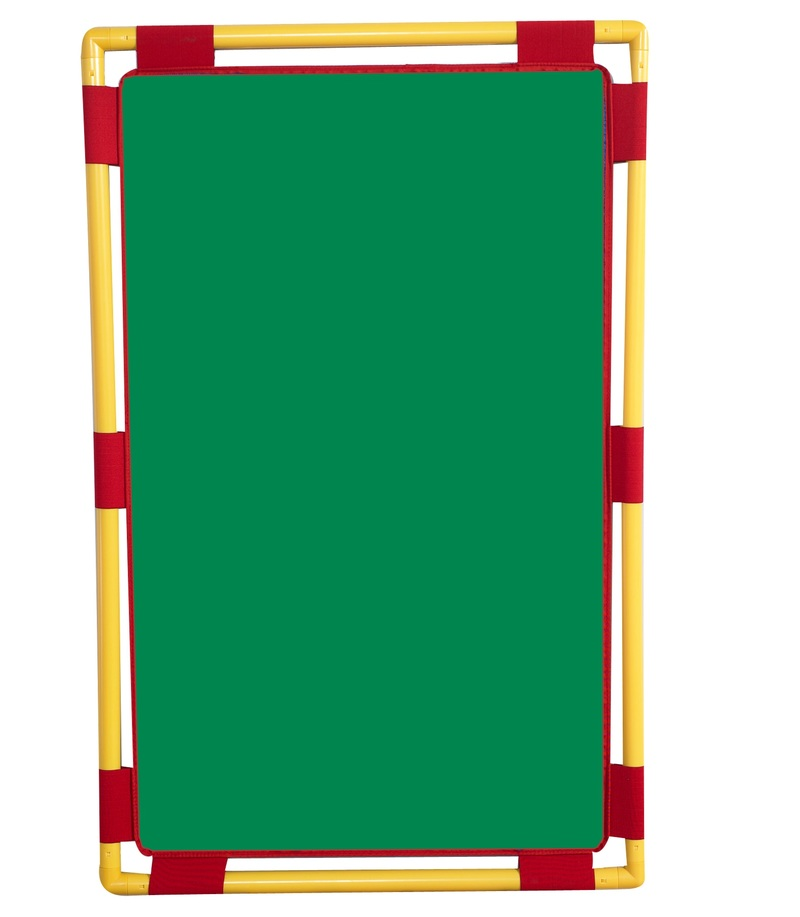 "The Children's Factory Green Playpanel: 31"" x 48"""