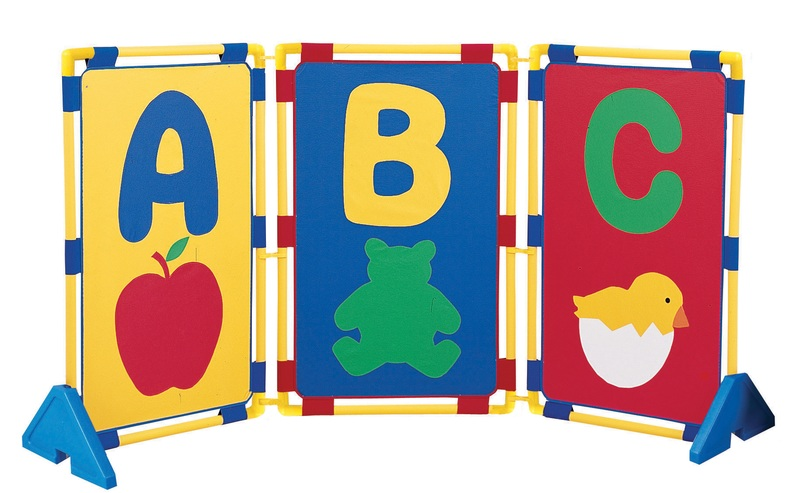 The Children's Factory Alphabetical Item Playpanel Set