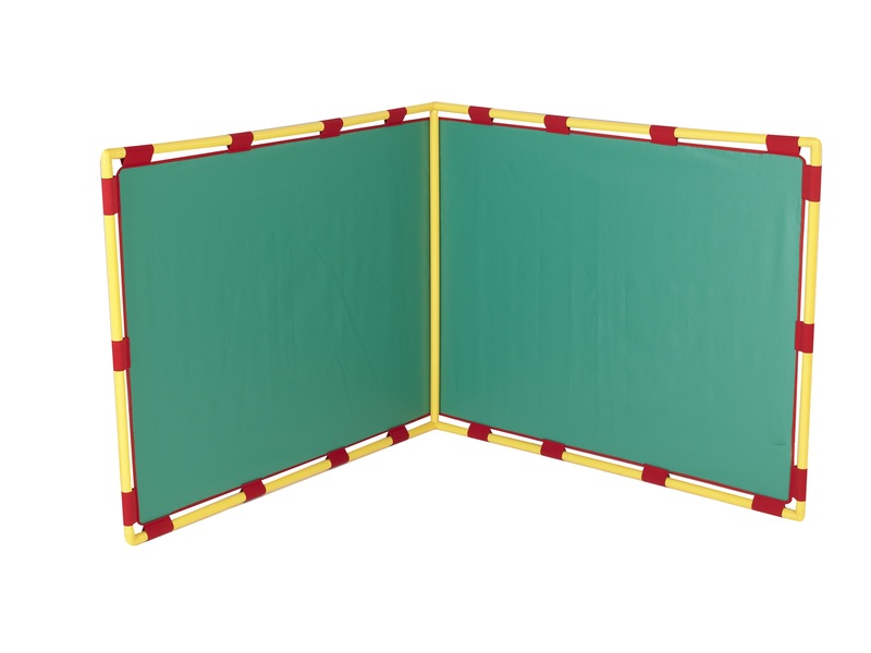 The Children's Factory Big Screen Right Angle Panel: Green