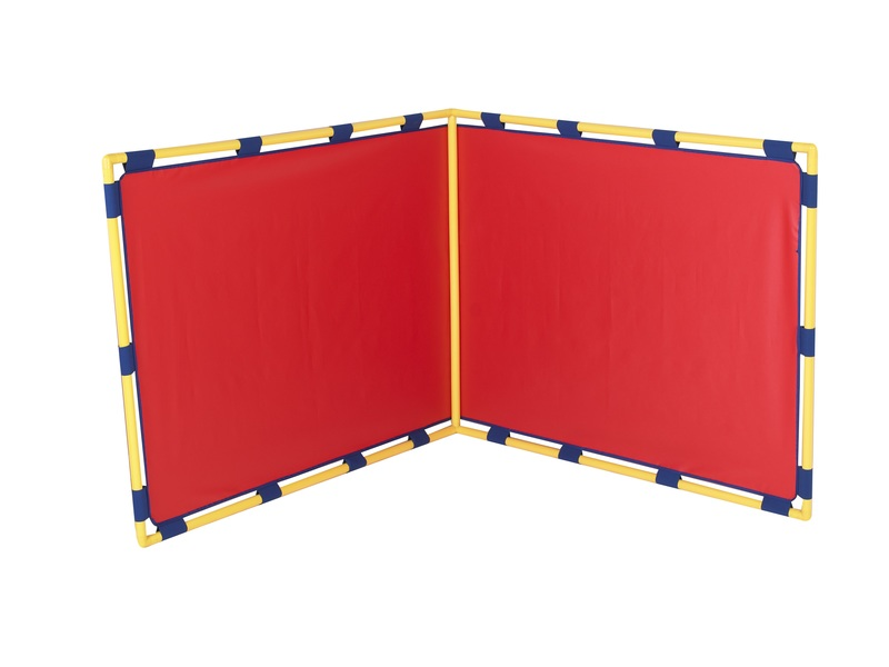 The Children's Factory Big Screen Right Angle Panel: Red