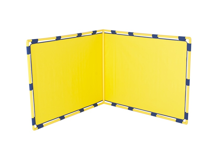 The Children's Factory Big Screen Right Angle Panel: Yellow