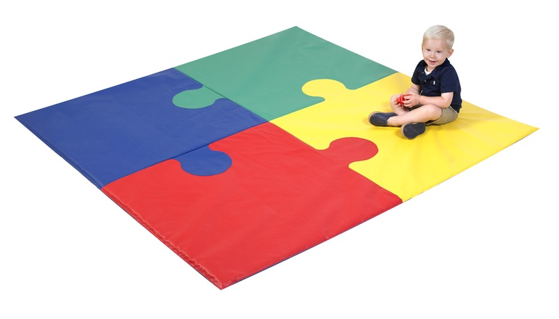 The Children's Factory Square Puzzle Mat