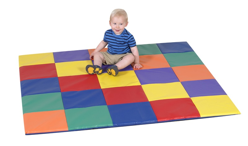The Children's Factory Patchwork Crawly Mat