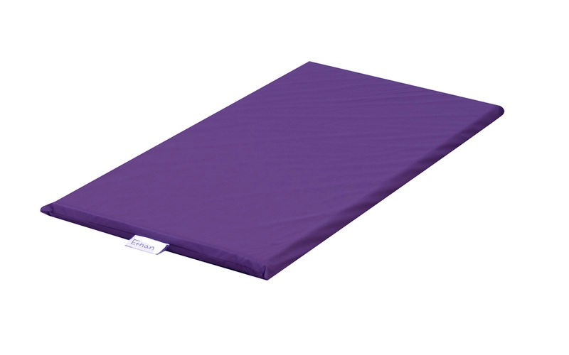 The Children's Factory Sewn Vinyl Rainbow Ret Mat: Purple