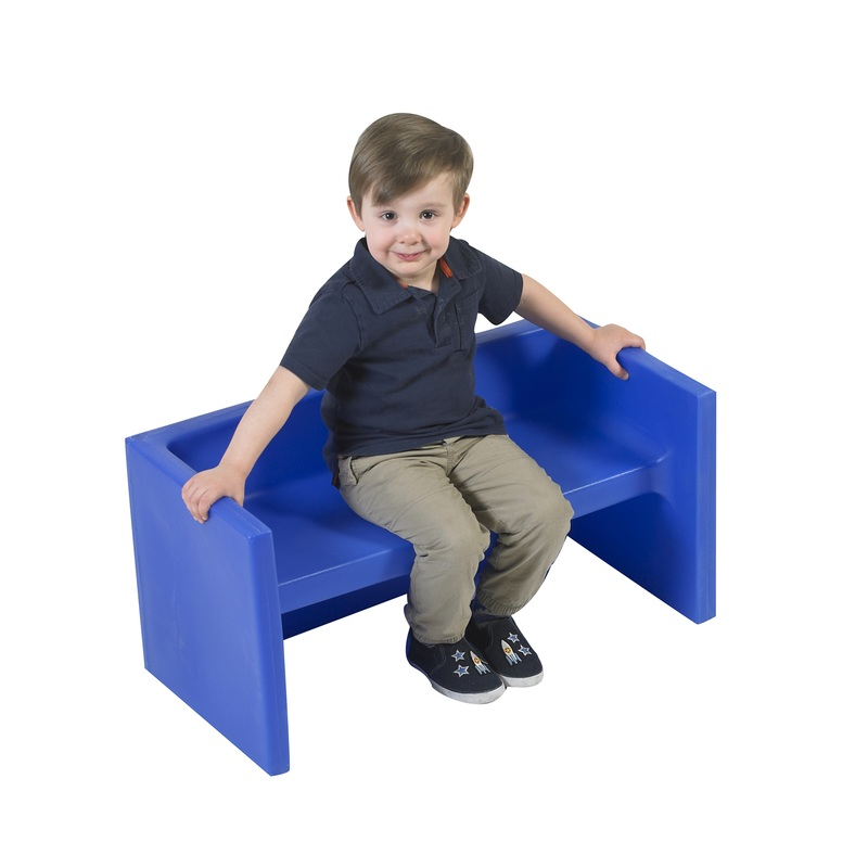 The Children's Factory Adapta-Bench: Blue