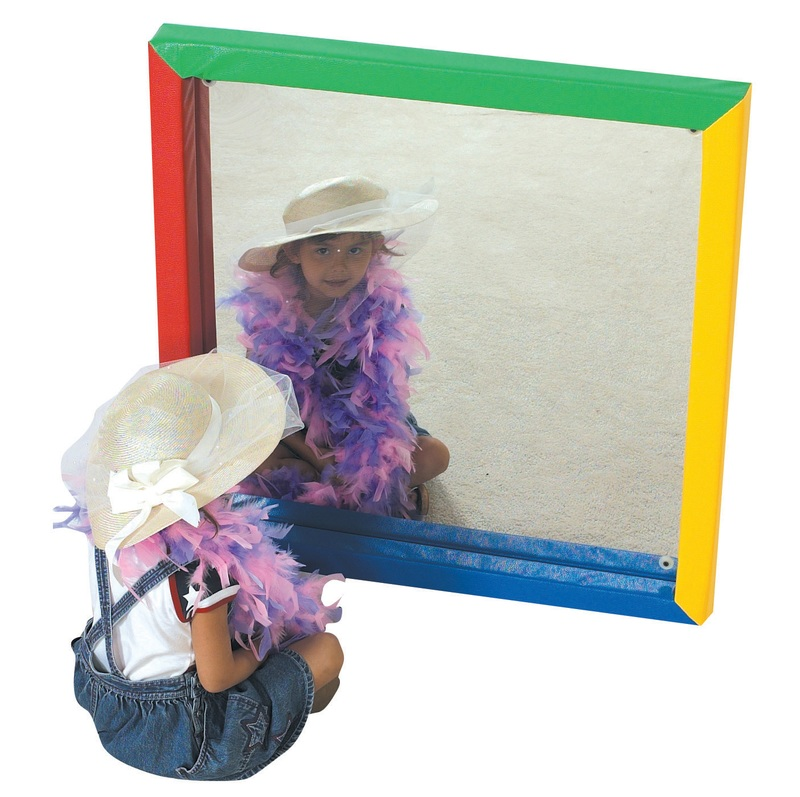 The Children's Factory Soft Frame Flat Mirror