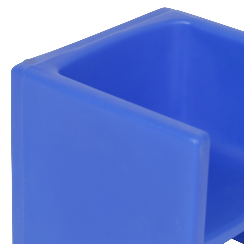 The Children's Factory Chair Cube: Blue
