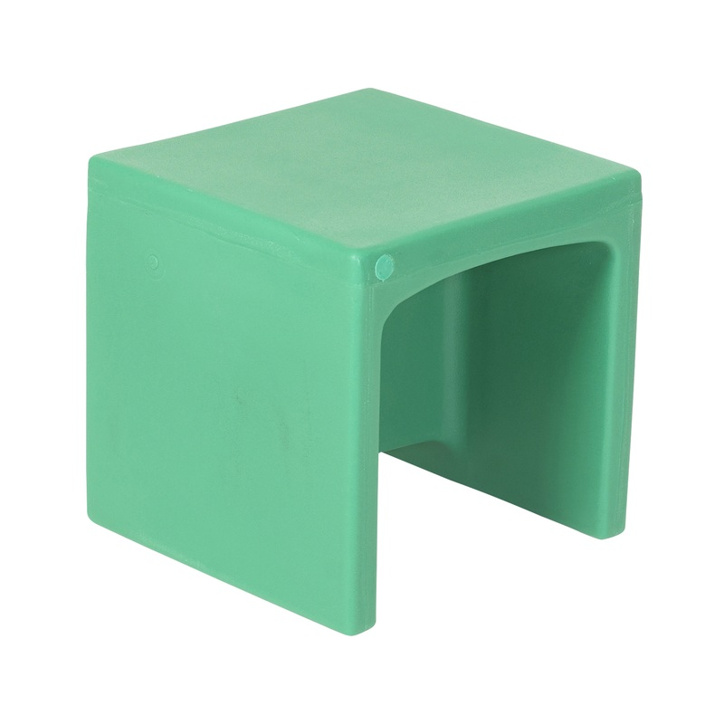 The Children's Factory Chair Cube: Green