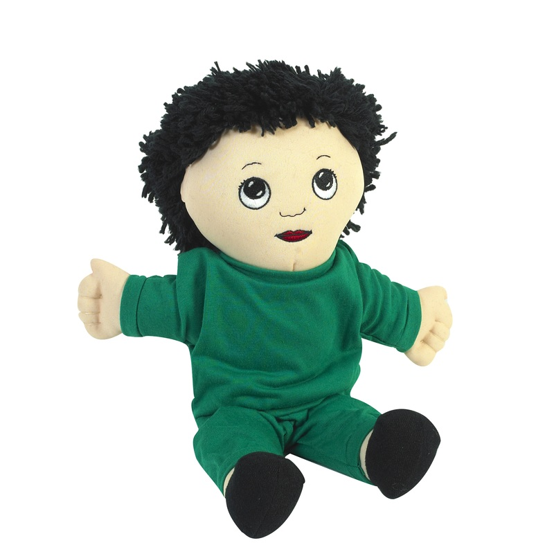 "The Children's Factory Asian Boy in Sweat Suit: 14"" Tall"