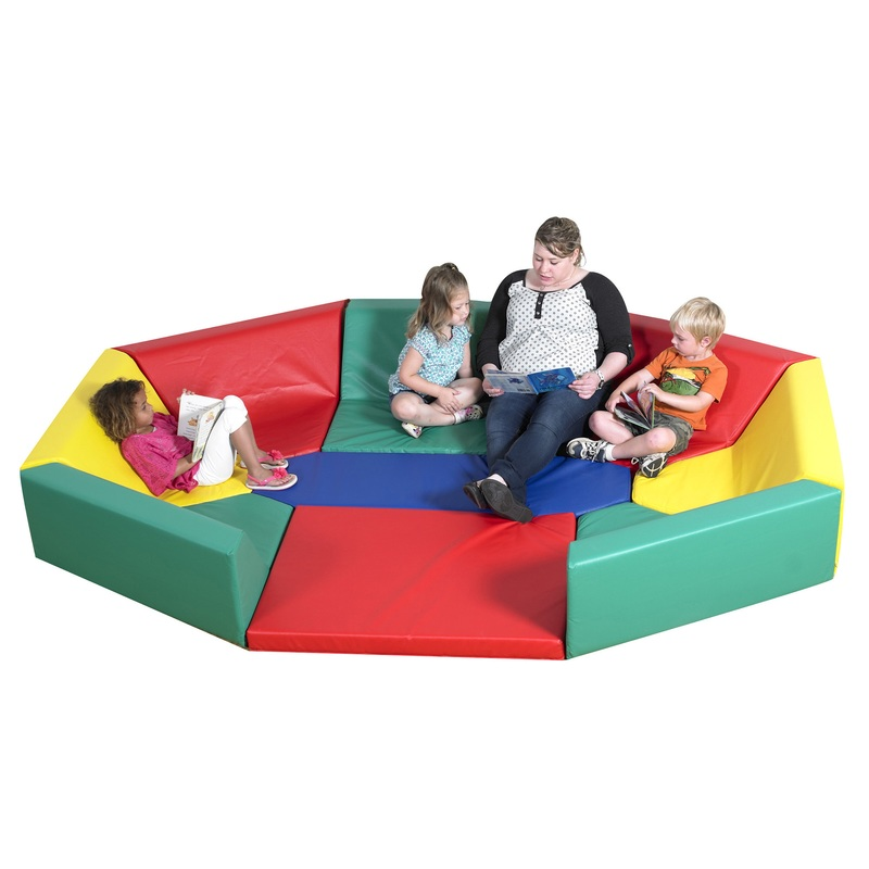 The Children's Factory Soft Octagonal Rainbow Hollow