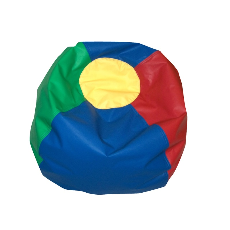 The Children's Factory Rainbow Bean Bag: 35""
