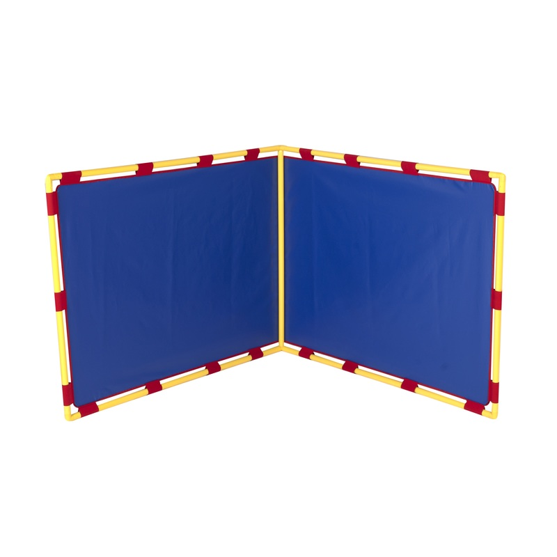 The Children's Factory Blue Big Screen Right Angle PlayPanel
