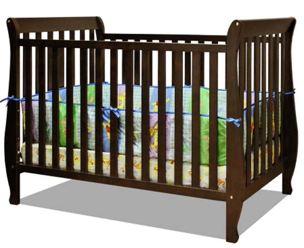 AFG Naomi 4-in-1 Convertible Crib: Espresso