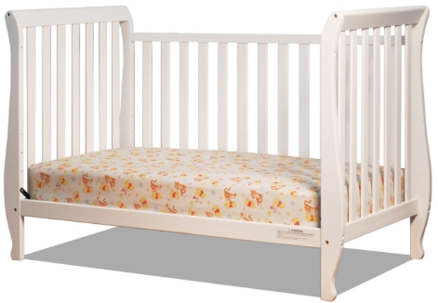 AFG Naomi 4-in-1 Convertible Crib: White