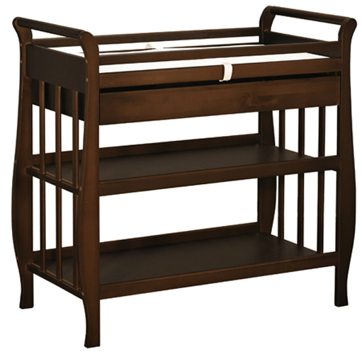 AFG Nadia Changing Table: Espresso