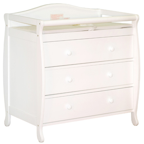 AFG Grace Changing Table: White