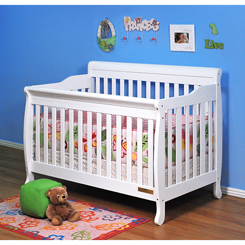 AFG Alice Convertible Crib: White