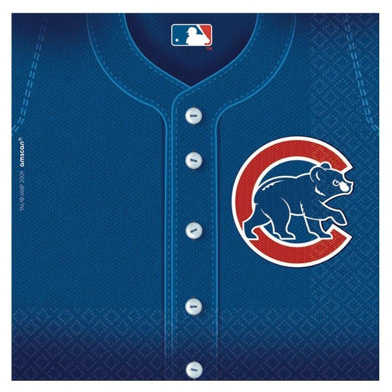 Chicago Cubs Baseball Lunch Napkins 36 Party Napkins