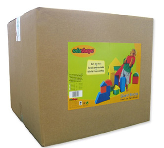 Edushape® Giant Blocks: 32 Pieces, Boxed