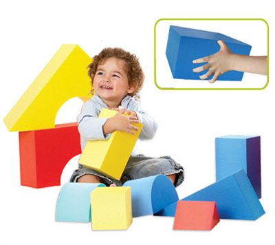 Edushape® Giant Blocks: 16 Pieces, Boxed