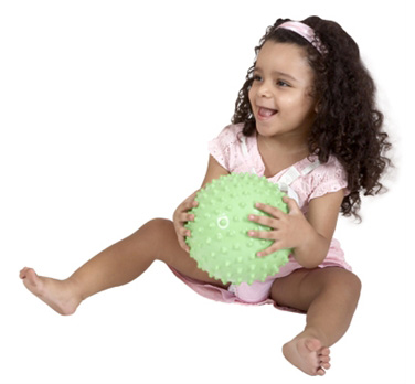Edushape® Glow in the Dark Sensory Ball: 7""