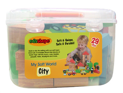 Edushape® My Soft World: City